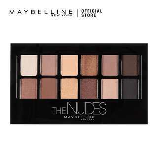 Maybelline The Nude Eyeshadow Pallete - Hitam