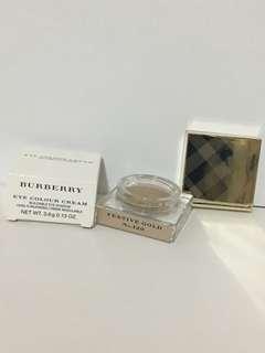 100%real Burberry eye colour cream 眼影膏 festival gold