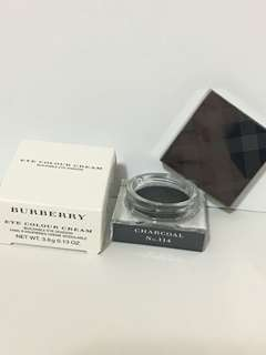 100%real Burberry eye colour cream 黑色眼影 charcoal