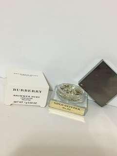 100%real Burberry eye glitter 金粉眼影 gold glitter