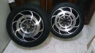 Kcar kelisa/kenari/kancil sportrim Manaray Brand Japan 14 inch
