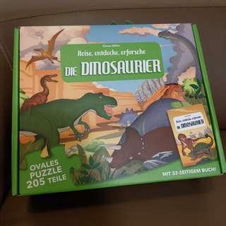 205pcs Dinosaurier Puzzle 恐龍砌圖 96 x 68cm
