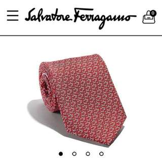 New and Authentic gift with box! Salvatore Ferragamo Golf club printed tie Collection SS 18  in 100% silk twill  Made In ITALY
