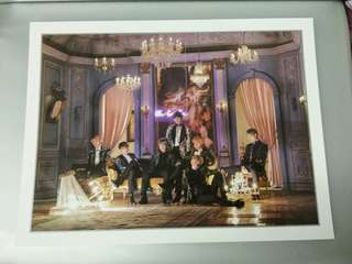 BTS PHOTO FRAME PAPER FROM CONCEPT BOOK