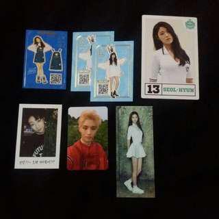 Kpop photocards