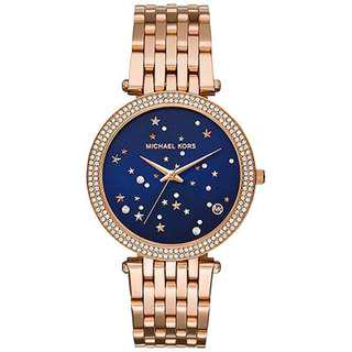 DARCI ROSE GOLD-TONE STAINLESS STEEL LADIES WATCH MK3728