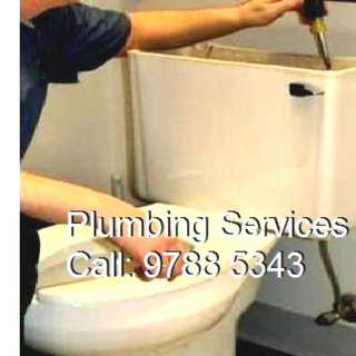 Plumbing Services, Plumber Work,  Install Toilet Bowl, Clear Choke, Fix Leakages