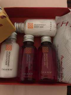 Thann mini body bath gift set
