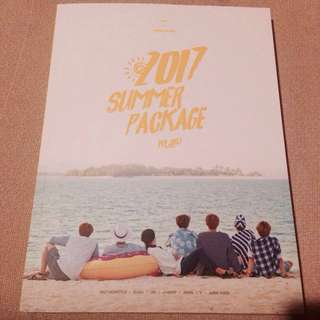 WTS BTS 2017 Summer Package Photobook