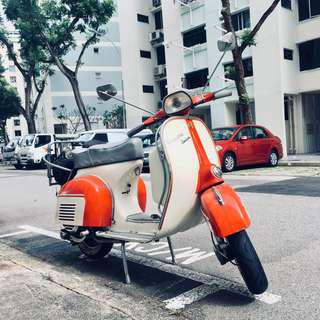 Vespa🛵  Sprint V 1976 AR Plate COE 2021