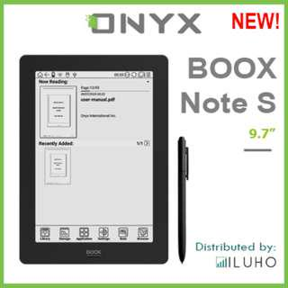 """🚚 [BNIB] ONYX BOOX Note S 9.7"""" Android eReader + Free Cover"""