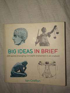 Big Ideas in Brief by Ian Crofton