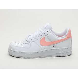 5a9c68b99fee Authentic Nike Air Force 1 07 White Oracle Pink