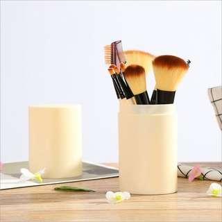 (SALE) Beige Brush 12 Set + Tube
