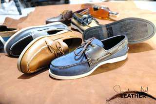 For sale topsider genuine leather