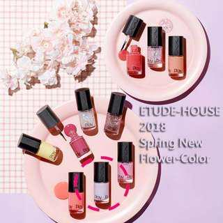 🚚 韓國購入 Etude house play系列 指甲油 2018新色-#105粉紫(熱銷色)