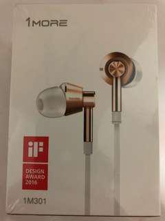 1more in-ear piston headphones