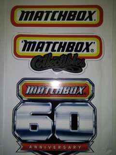 Sticker diecast matchbox