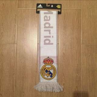 正版官方 皇家馬德里頸巾 皇馬 頸巾 authentic adidas Real Madrid men scarf