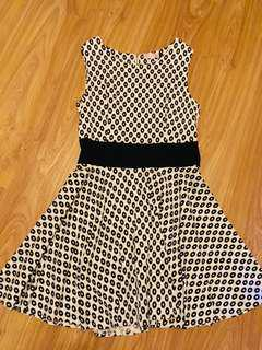 Prive black and white dress
