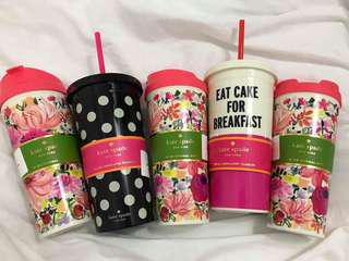 Kate Spade - Thermal Mug, Insulated Tumbler and Water Bottle