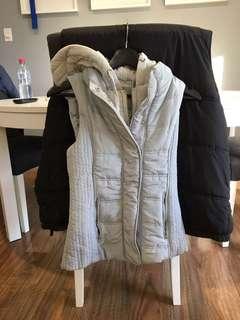 NWT grey vest