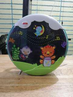 Fisher price shooting star glow soother