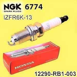 Honda NGK spark plugs