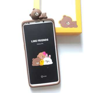 (全新) Line Friends Samsung Galaxy S9+ 電話殼 Smart Phone Case