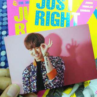 Yugyeom Just right photocard