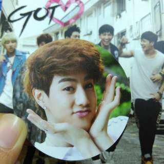Mark Got Love photocard