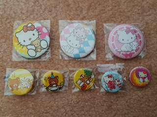 Assorted Hello Kitty & Rilakkuma Bages