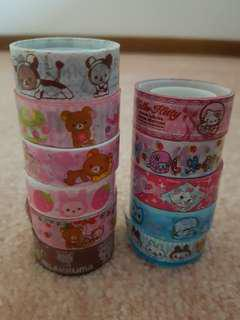 11 pcs Washi Tape