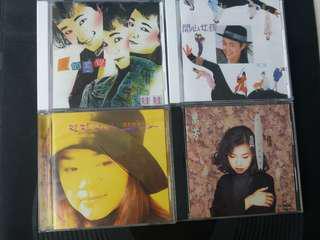 娃娃/万芳专辑 1.) 爱的感觉 2.) 开心女孩 3.) 我对你不灰心 (首版音碟) 4.)真情 (首版音碟)