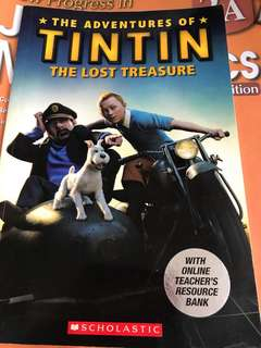 The Adventures Of Tintin The Lost Treasure