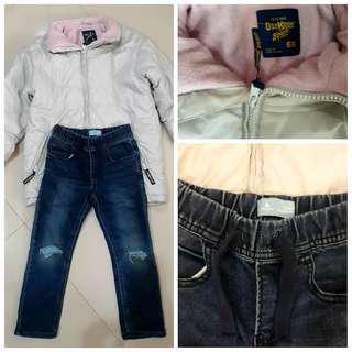 Origanl oshkosh and gap ripped jeans not nike or adidas