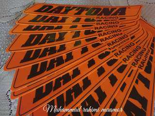 Sticker Daytona racing
