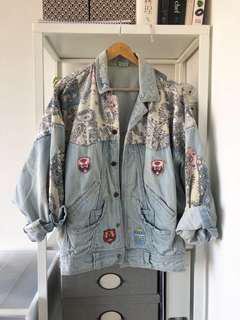 Oversized vintage denim Jacket