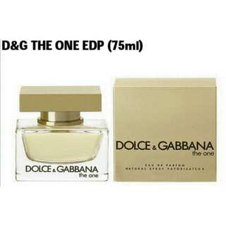 🚚 ♀D&G The One EDP (75ml) DOLCE GABBANA