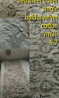 bedsheets cover single fitted