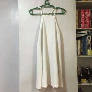 Penshoppe White Halter Dress