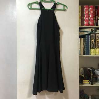 Penshoppe Black Halter Dress