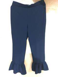 Celana Panjang Navy Zara Size S