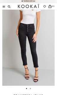 Kookai Francesca Jeans Size 38