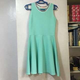 Sporty Teal Dress