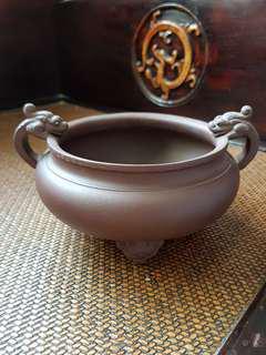 紫砂大香炉 Clay Incenser