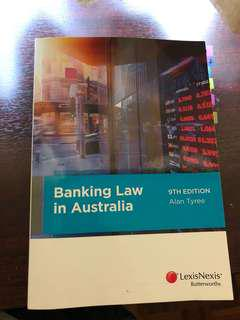 [VU] REDUCED! Banking Law in Australia