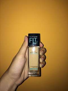 Maybelline Fit Me Matte + Poreless Foundation 128 Warm Nude Beige Chaud