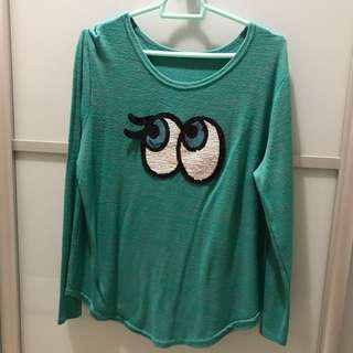 Green Long Sleeve Shirt inspired