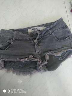 Brandy Melville Greyish black shorts